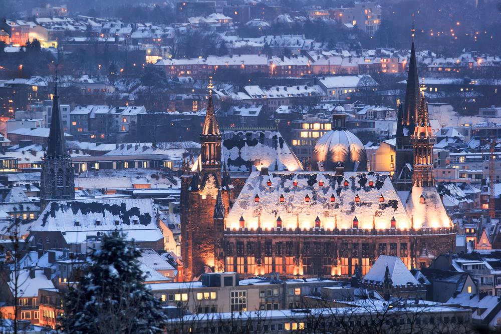 Aachener Dom von außen